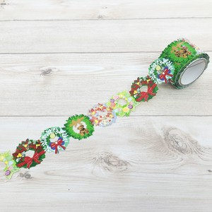 Christmas Wreath Christmas Wrapping Decoration Washi Tape