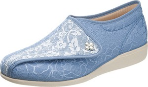 Ladies Shoe Light-Weight Fastener 3E Embroidery
