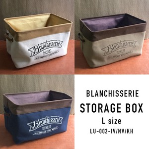 Thick Canvas Use Storage Series Blanchisserie Tray Box