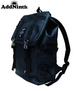 Synthetic Leather Belt Cover Backpack