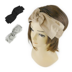 Suede Ribbon Turban Hair Band Young Hats & Cap