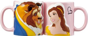 Beauty And The Beast Pair Mag Cups