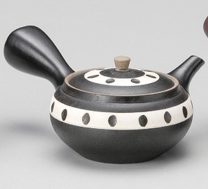 Line Cut Japanese Tea Pot