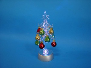 Glass LED Tree