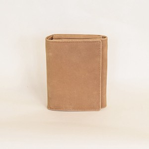 All Leather Wallet Cow Leather Men's Ladies Camel