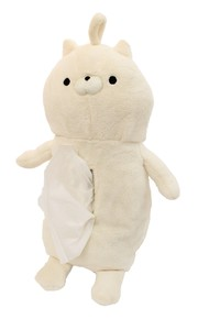 Okaeri Sonodakun Sitting Tissue Case Cat