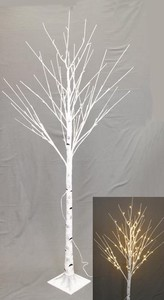 White Branch Light Tree Stand