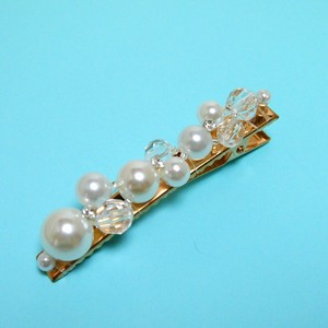 Arc Lip Pearl Beads Design Clip