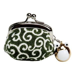 Arabesque Coin Purse Frog Attached