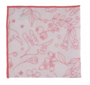 Gauze Handkerchief Humming Bird