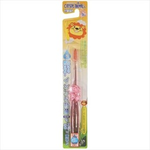 Crystal Animals tooth brush LION Flat Standard