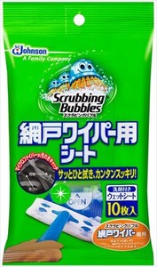 Scrubing Bubble Wiper Sheet 10 Pcs