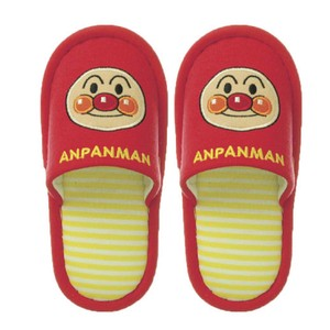 Anpanman Face Slipper Kids Anpanman Red