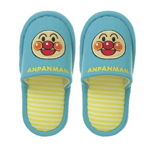 Anpanman New Face Slipper Kids Anpanman Blue