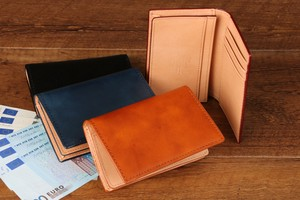 Italy Leather Card Case Business Card Holder