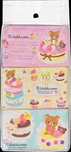 Sweets Rilakkuma Pocket Tissue