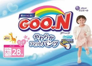 GOO.N Goon Soft Fit Pants 28 Pcs Girl