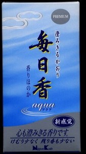 Premium Mainichiko Incense Stick Aqua