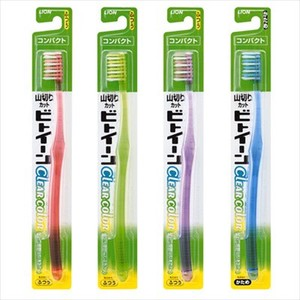 Between LION Toothbrush Clear Color Standard 1 Pc