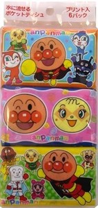 Anpanman Pocket Tissue