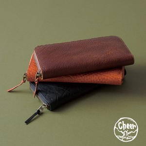 Wallet Oil Leather Long Wallet Japan