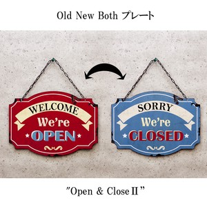 Old New シリーズプレート [Open & ClosedII]
