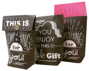 Present Gift Wrapping Package Bag Christmas