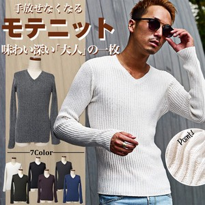 2016 A/W Men's Plain Pullover Top Sweater