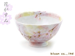 Japanese Rice Bowl Pink Sakura Sakura 1Pc Mino Ware