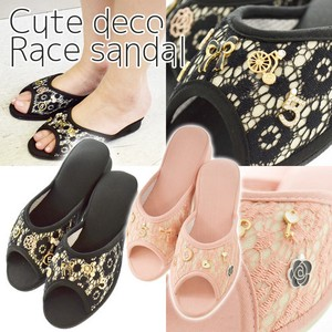 Lace Sandal Room Shoe Ladies Room Sandal Slipper