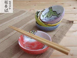 Mini Dish Set Mino Ware