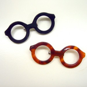 Eyeglass Brooch