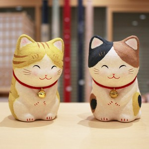 Chigiri Japanese Paper Bow Cat Ornament