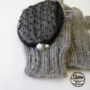 A/W Arm Warmer Dot Pearl Cover Warmer
