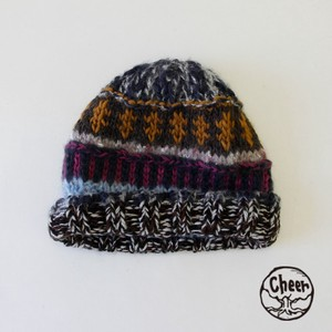 A/W Knitted Hat Patchwork CAP