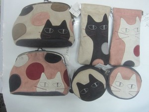 2016 Autumn Coin Purse Pouch Round Pack Cat