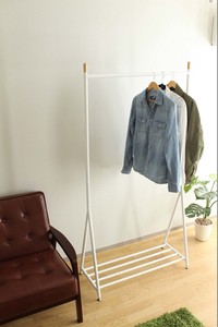 Tall 9cm Long Clothes Hanger Rack Steel Attached