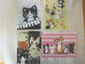 Brand Cat Pocket Clear File