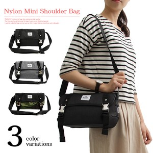 Nylon Shoulder Bag Flap