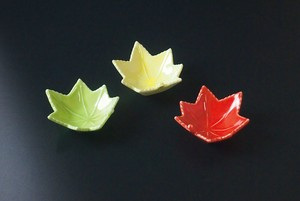 Autumn Leaves type Spice Tray Mini Dish Made in Japan