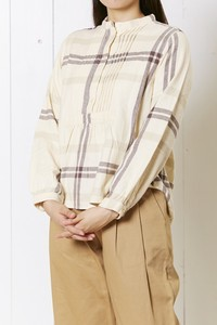 Twill Checkered Gigging Material Stand Pullover