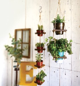 Hanging Pot 2 type Natural