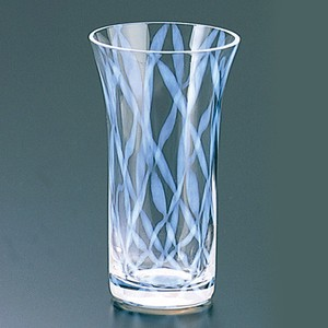 A Bite Beer Glass Checkered Pattern