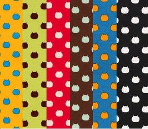 NEKOTAMA Fabric 6 Colors Dot