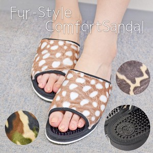 Animal Harako Health Sandal Bambi Camouflage Ladies Room Shoe