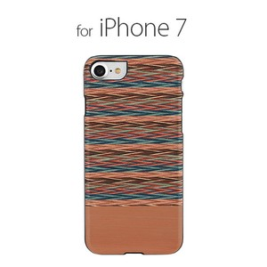 iPhone SE Case Natural Wood Checkered