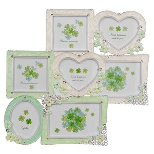 Clover Photo Frame Ivory Multi-Color