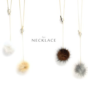 Mink Fur Necklace Outing Otomo Mink Items