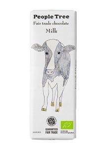 フェアトレードチョコ 板チョコ ミルク【秋冬限定】