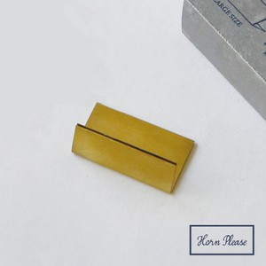 Point Reduction Brass Brass Card Stand Wide